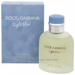 DOLCE&GABBANA Light Blue edt 125 мл мужская - лицензия отличного качества
