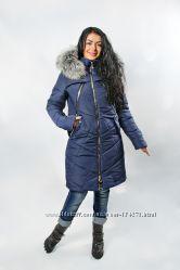 Женякая зимняя куртка 42-56р. без минималок