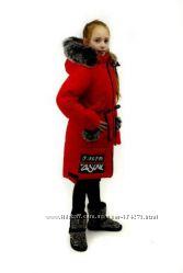Куртки для девочек зима -4 модели .
