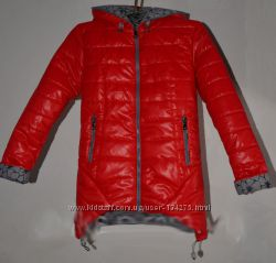 Деми куртка  на рост 128-152 без минималок