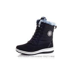 Ботинки зима женские черные- провереое качество  годами