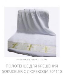 Турецкое крестильное полотенце крыжма
