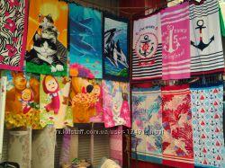 Турецкие пляжные полотенца по оптовым ценам.