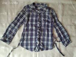 Блузки рубашки в школу.