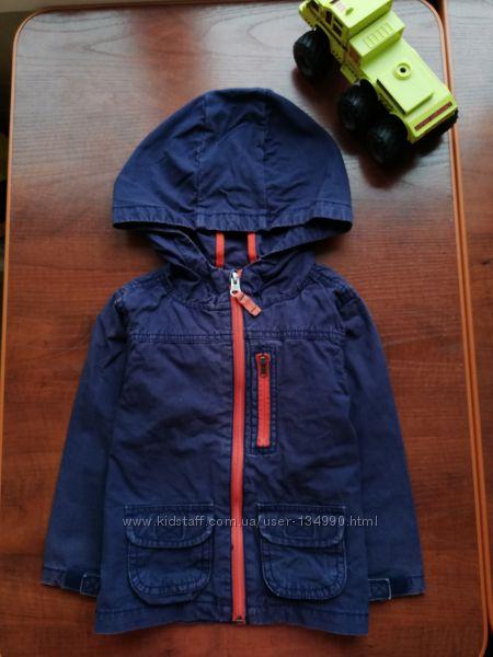 Ветровка Carters 24М, хлопок летняя куртка без подкладки Картерс