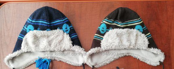 Зимние тёплые шапки Lenne 48, 50 см, шапочки Ленни полушерсть шапка зимняя