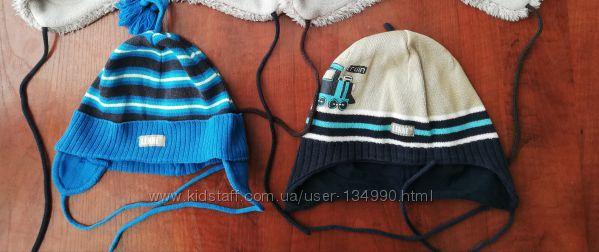 Деми шапки Lenne 48, 50, хлопок шапка весна осень демисезонная