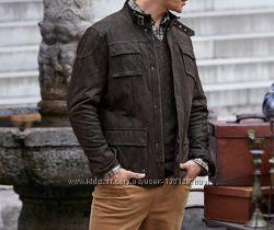 Куртка мужская утепленная. Натуральная кожа. TCM Tchibo.