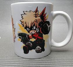 Чашки с персонажами из аниме