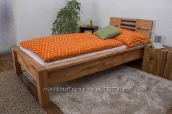 Кровать двухспальная из дерева Mobler