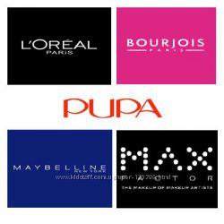 Косметика Bourjous, Loreal, Maxfactor  и  другая за оптовыми ценами
