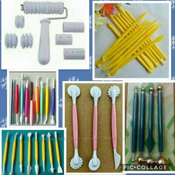 Инструменты для работы с мастикой
