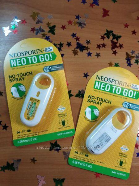 Спрей при ушибах порезах Neo To Go