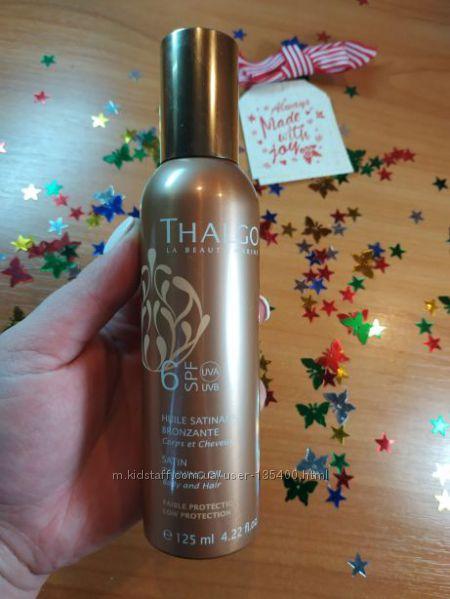 Атласное масло для загара Thalgo SPF6 Satin Tanning Oil