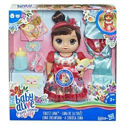 Baby Alive Кукла Лесная фея Лесные сказки.