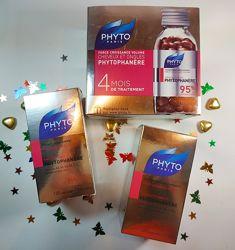 Phyto Phytophanere витамины для волос и ногтей