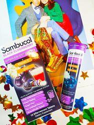 Sambucol Самбукол Черная бузина, шипучие таблетки, 15шипучих таблеток
