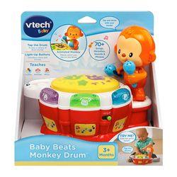 Обезьяна с барабанной установкой VTech Baby Beats Monkey Drum