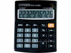 Калькулятор  Citizen SDC-810BN черный  100х125х34