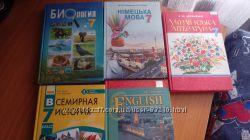 Учебники 7 класс  новая программа, На русском