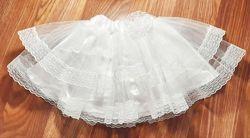 Белая кружевная пышная юбка пачка 3-9 года, нг, утренник, снежинка, 8 марта