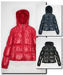Зимняя пуховая куртка united colors of benetton стеганая детская капюшоном