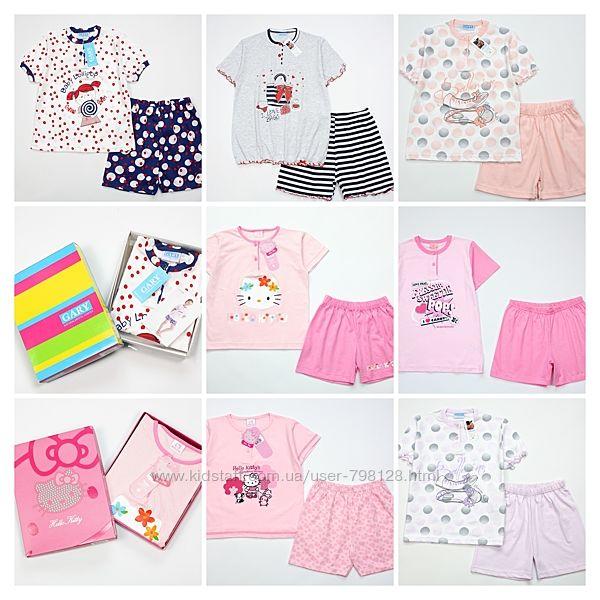 Пижама детская Hello Kitty хлопковая итальянская девочке
