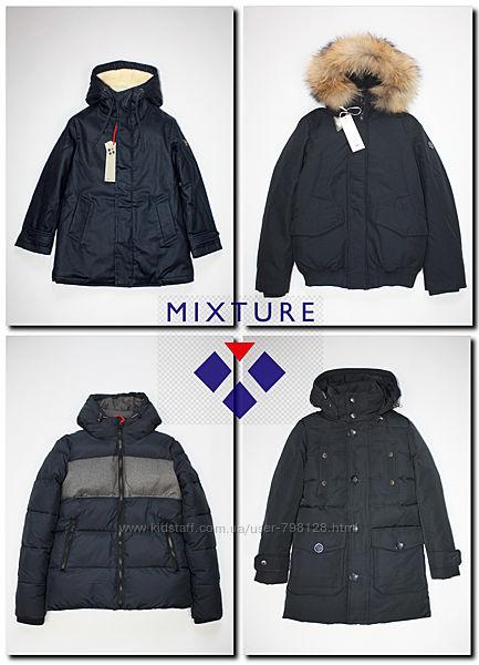 Зимние куртки пуховик для мальчика Mixture Италия