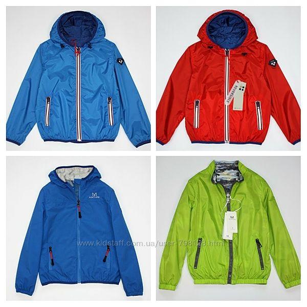 Куртка ветровка для мальчика Mixture Италия непромокаемая