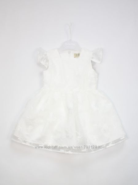 Платье To Be Too белое с вышивкой Италия