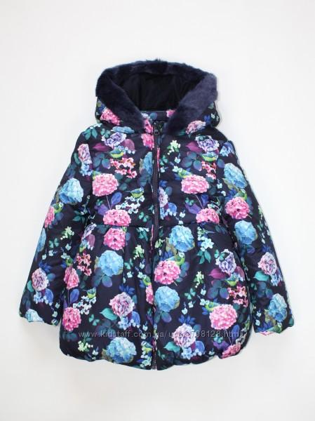скидка Куртка детская Marks & Spencer для девочки синяя