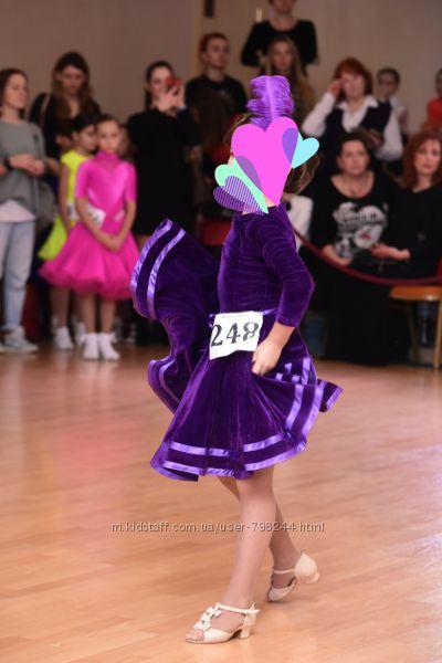 Бейсик платье для танцев на 5-7 лет