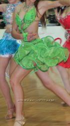 Платье для танцев латина на 13-16 лет