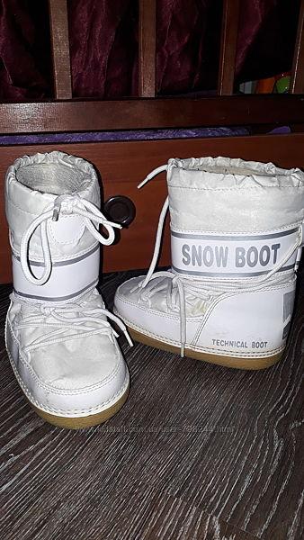 Сноубутсы сапоги снегоходы размер 30-31
