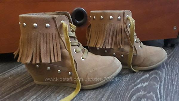 Ботинки сникерсы размер 31-32