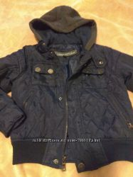 Стеганная фирменная куртка ветровка 56 лет в отличном состоянии