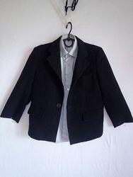 Школьный пиджак для мальчика. рост 116-122.