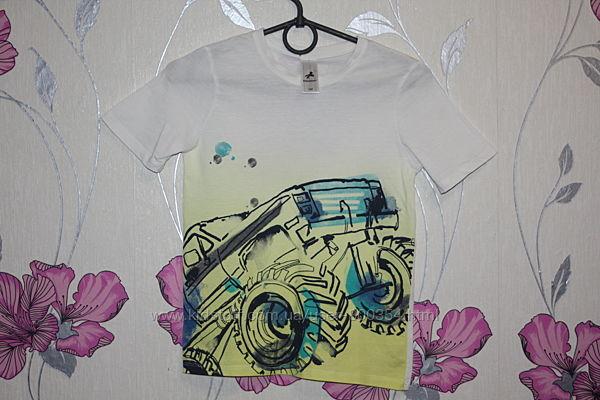 крутая футболка р.134