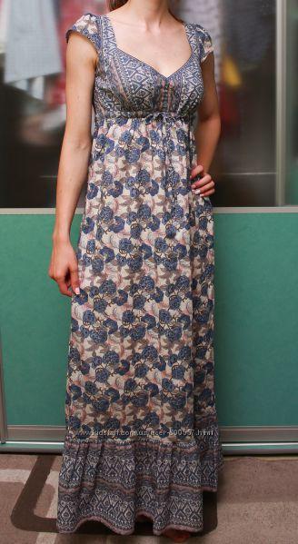 Платье в пол на лето Marks&Spenser