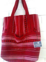 сумка шопер текстиль этно мотив