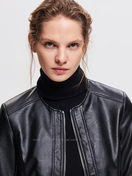 Куртка женская кожаная новая Польша XS S M L XL XXL 42 44 46 48 50 52 54