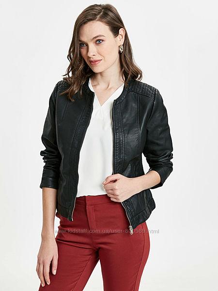 Куртка женская кожаная новая Турция XS S M L XL XXL 3XL42 44 46 48 50 52 54