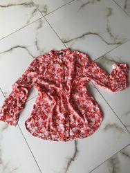 Лёгкая стильная яркая блуза от Marc OPolo