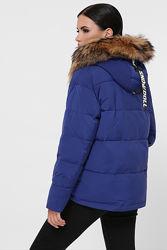 Теплая зимняя укороченная куртка с мехом. Тинсулейт Качество отличное. Зима