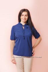 Модная блуза Рюша код 2437