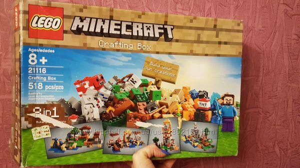 Конструктор Lego Minecraft  21116, 21115  8