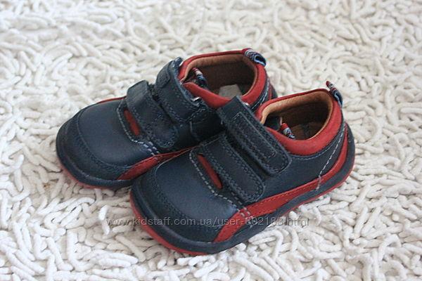 Кожаные туфли Start- rite Англия размер 3,5 Е на 21