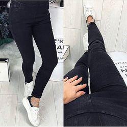 На байке Женские джинсы джеггинсы лосины леггинсы ОсеньЗимы Под джинс