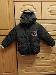 Куртка с мехом 2-3 года
