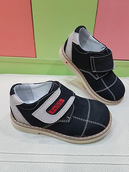 Кожаные ортопедические туфли Fess 104